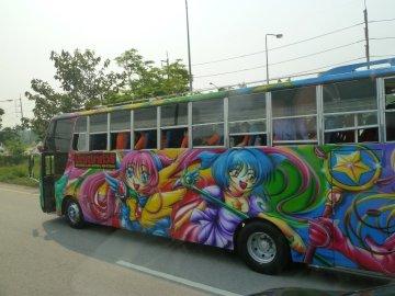 Sur la route entre Bangkok et Ban Phe - Thaïlande