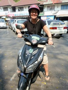 Location de scooter à Chiang Mai
