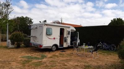 Déjeuner au camping des Pins - Notre Dame-de-Monts
