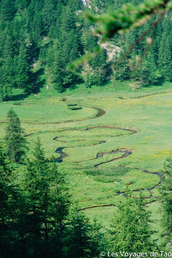 Serpentine Lac d'allos les voyages de tao