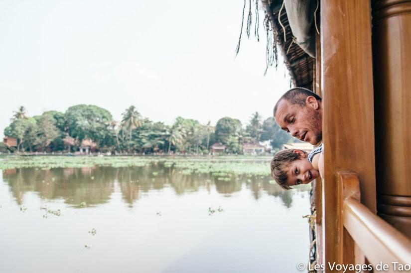 Blog voyage en famille Inde Backwaters