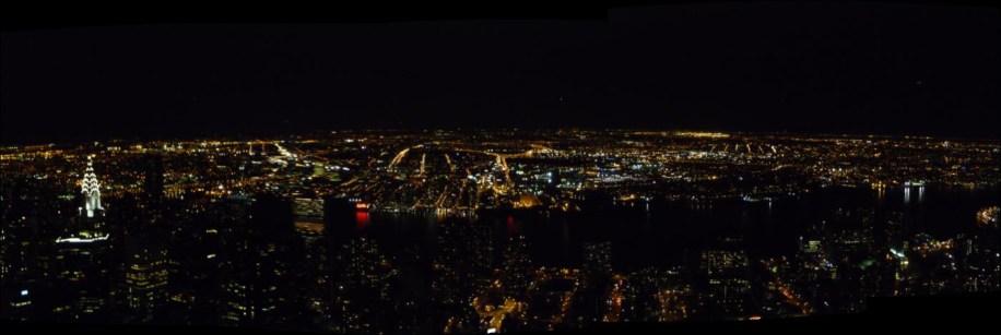 Panoramique depuis Empire State Building