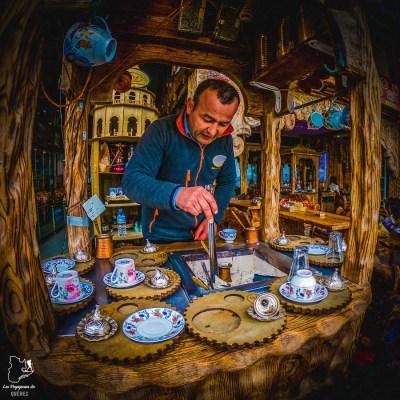 Préparation d'un café turc à Istanbul dans mon article Carnet de voyage à Istanbul : Ville de contrastes et de découvertes #istanbul #turquie #voyage