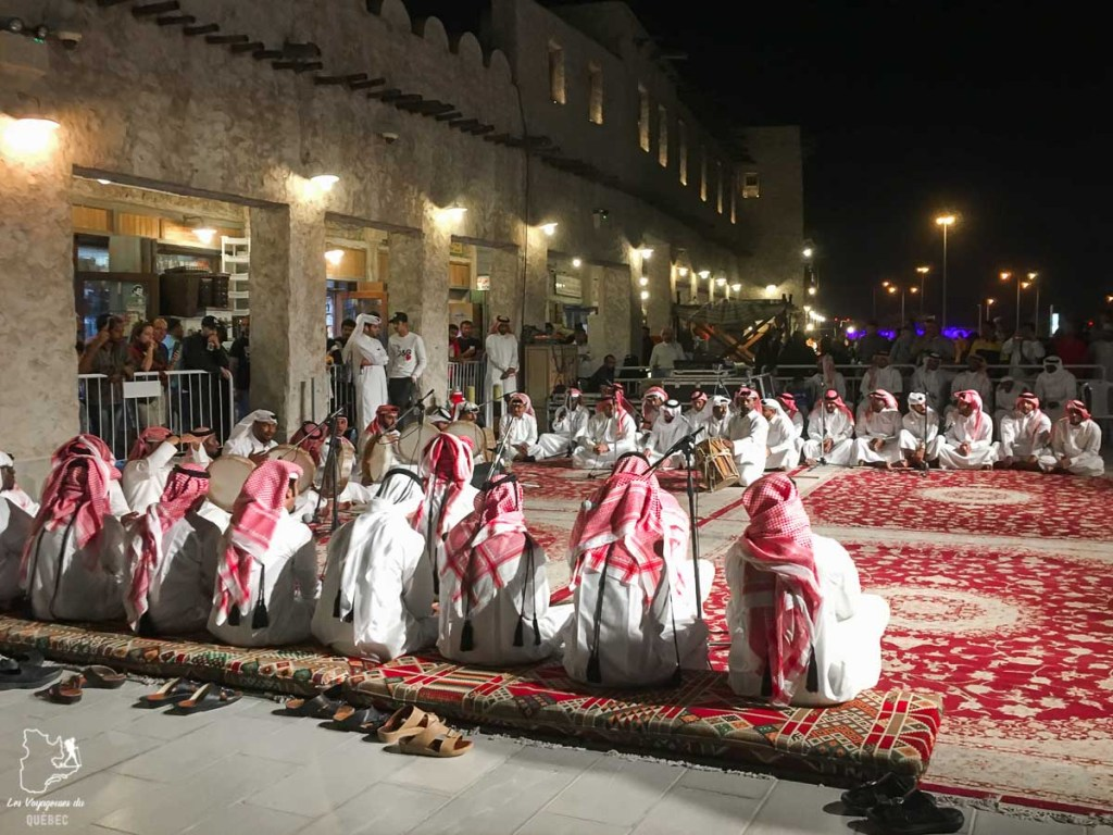 Spectacle de musique traditionnelle dans notre article Visiter Doha au Qatar: Que faire pendant une escale à Doha de 24 heures #doha #qatar #voyage #escale