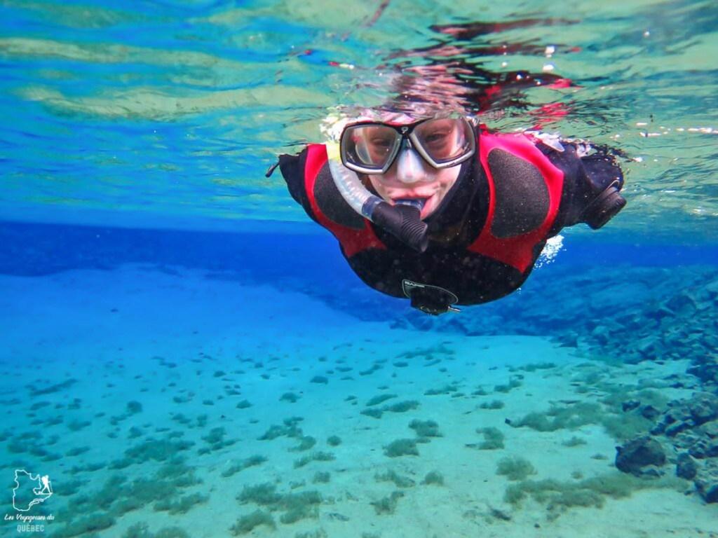 Plongée en Islande dans notre article Où partir seule en tant que femme : 12 destinations pour un voyage en solo #voyage #femme #voyagersolo #islande