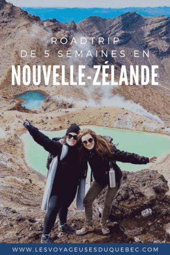 5 semaines sur la route en Nouvelle-Zélande