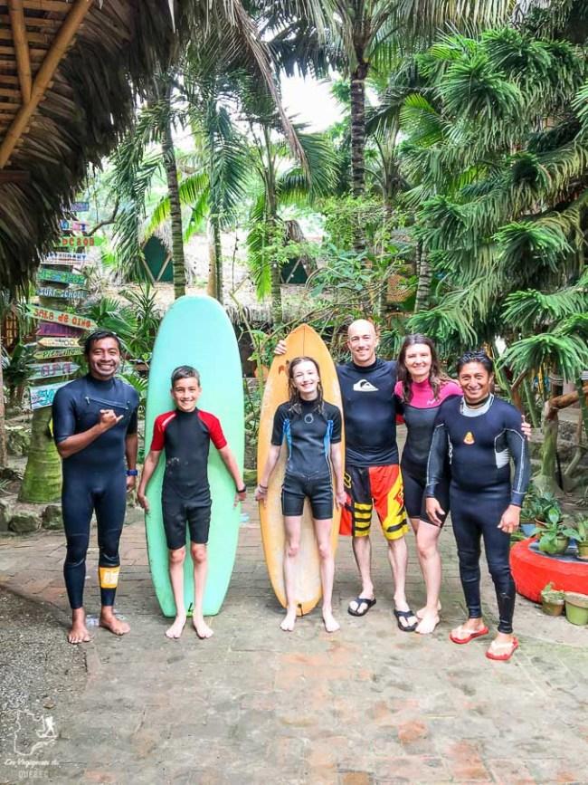 Surf en famille en Équateur dans notre article Surf en Équateur : Mon expérience dans un camp de surf à Montañita #surf #equateur #campdesurf #montanita