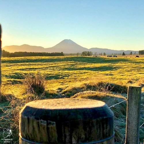 Le Mont Tongariro, un incontournable de l'île du Nord en Nouvelle-Zélande dans notre article sur l'Île du Nord en Nouvelle-Zélande : Incontournables et itinéraire de mon road trip #nouvellezelande #oceanie #voyage #iledunord #roadtrip #tongariro