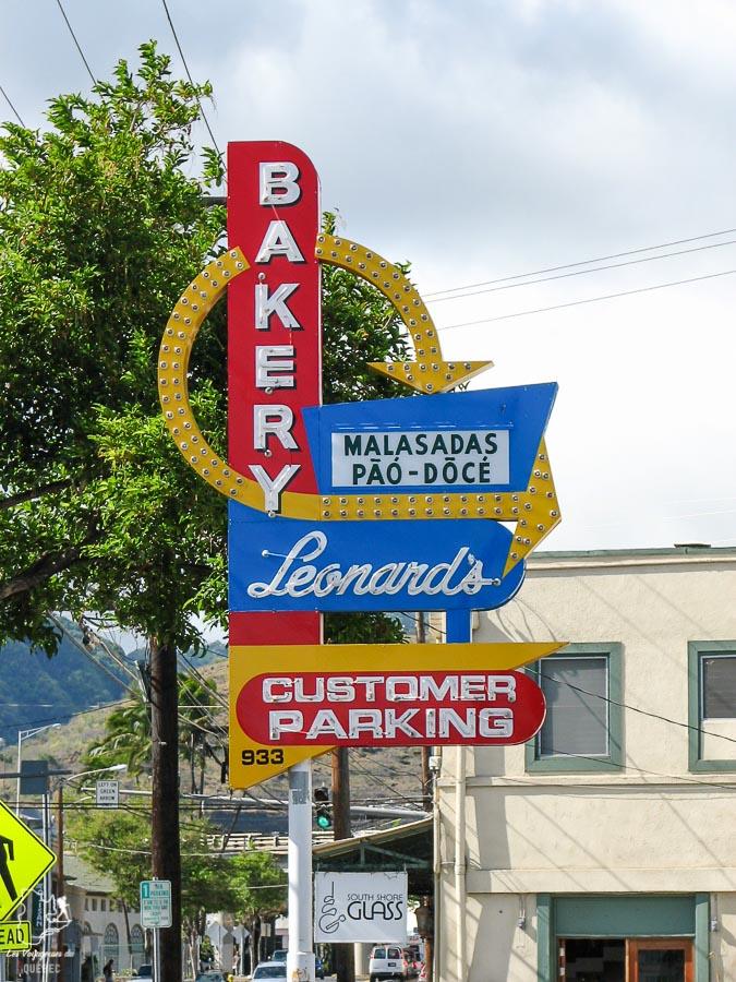 Leonard's Bakery à Waikiki à Hawaii dans notre article Waikiki à Hawaii en 10 coups de coeur : destination plage et surf d'Oahu #waikiki #hawaii #oahu #voyage #surf #plage
