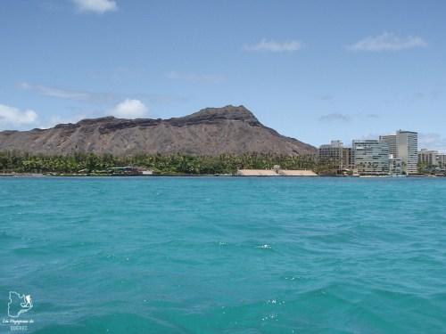 Plage de Waikiki à Hawaii dans notre article Waikiki à Hawaii en 10 coups de coeur : destination plage et surf d'Oahu #waikiki #hawaii #oahu #voyage #surf #plage