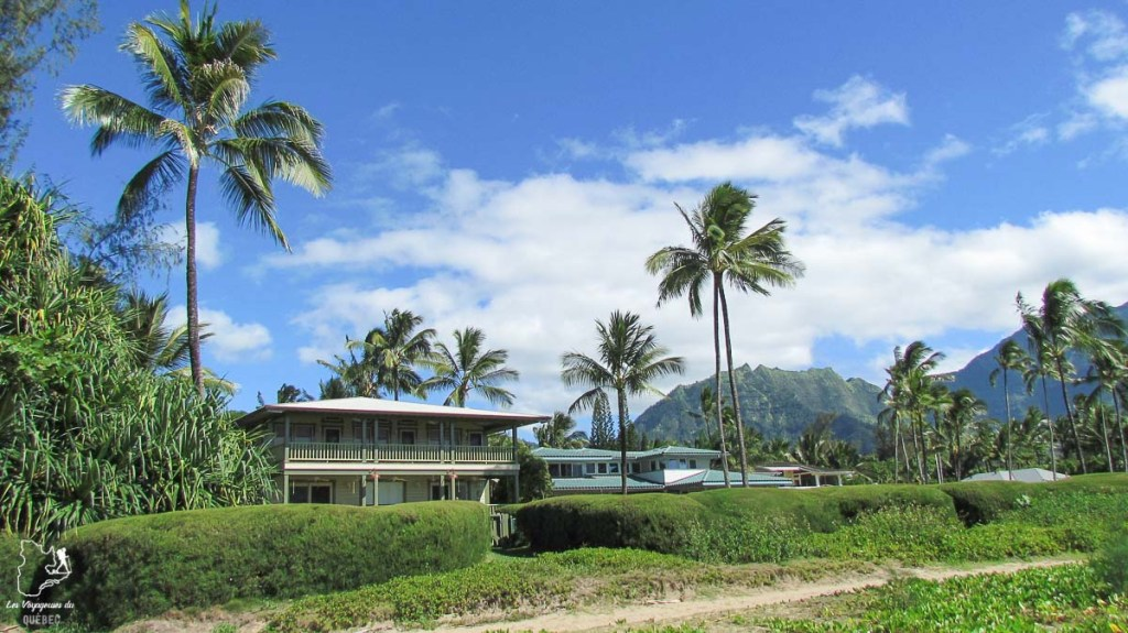 Princeville sur l'île de Kauai à Hawaii dans notre article sur Visiter Kauai à Hawaii : 12 incontournables à faire sur l'île de Kauai #kauai #hawaii #voyage #usa #ile #iledekauai #kauaihawaii #princeville