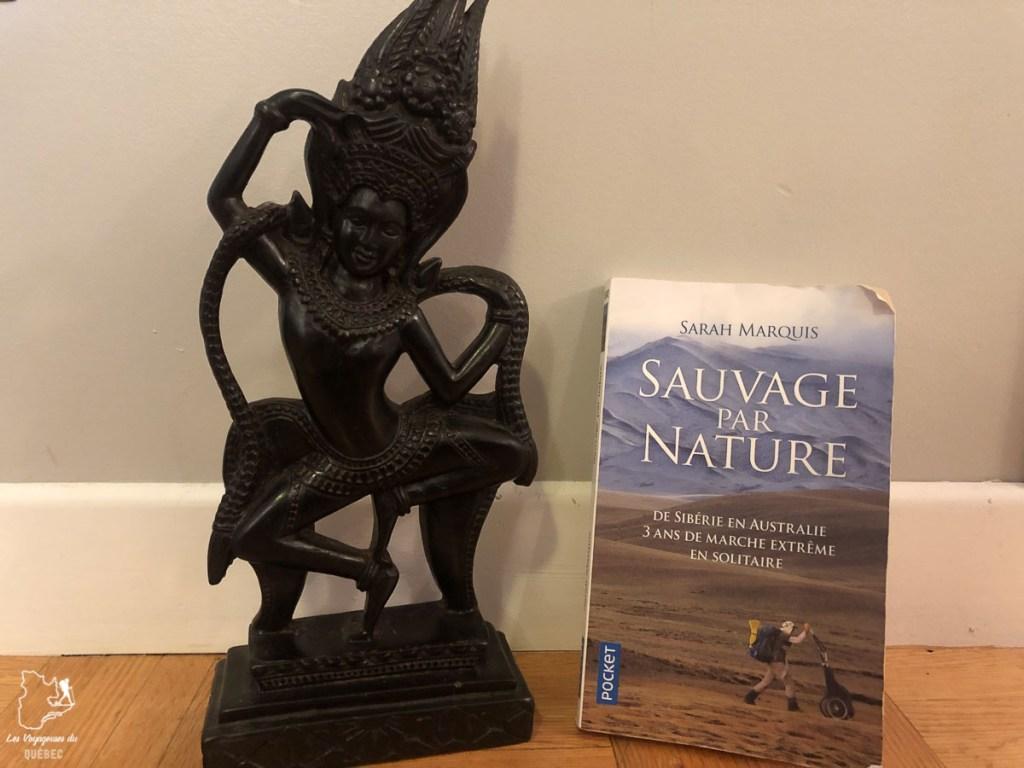Le récit de voyage Sauvage par nature de Sarah Marquis dans notre article 7 récits de voyage et livres de femmes inspirantes du Québec et d'ailleurs #livre #recitdevoyage #voyage #voyageuse #litterature #femme