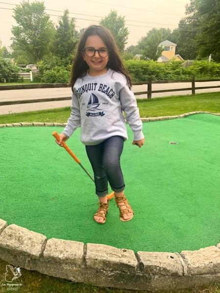 Mini-golf au Wonder Mountain Fun Park à Ogunquit dans le Maine dans notre article Ogunquit dans le Maine : petit guide pour des vacances en famille réussies #ogunquit #maine #usa #etatsunis #plage #famille #vacances