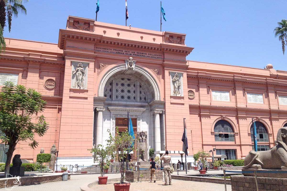 Musée du Caire en Égypte dans notre article Le Nil en Égypte : L'itinéraire de mon voyage sur le Nil en train #egypte #nil #afrique #train #voyage #caire
