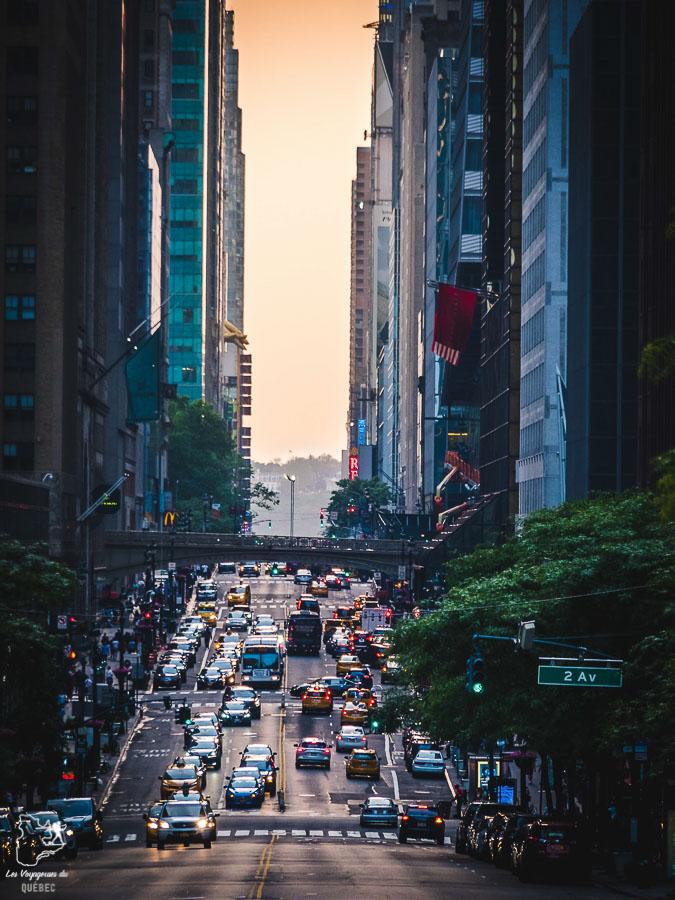 Beau point de vue de New York au Tudor City overpass dans notre article Les meilleurs points de vue de New York et endroits pour photographier la ville #newyork #usa #etatsunis #vue #panoramique #pointsdevue