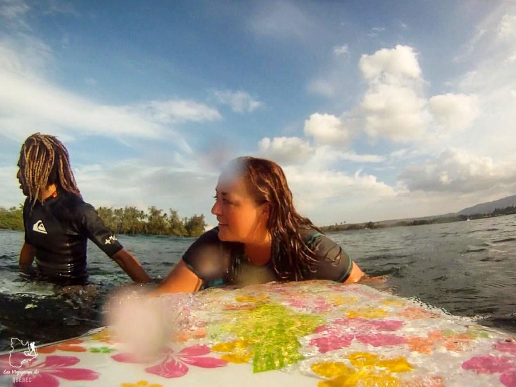 Cours de surf à Oahu dans notre article Le surf à Oahu : Mes plus beaux spots de surf sur cette île d'Hawaii #surf #oahu #waikiki #usa #voyage #spotdesurf