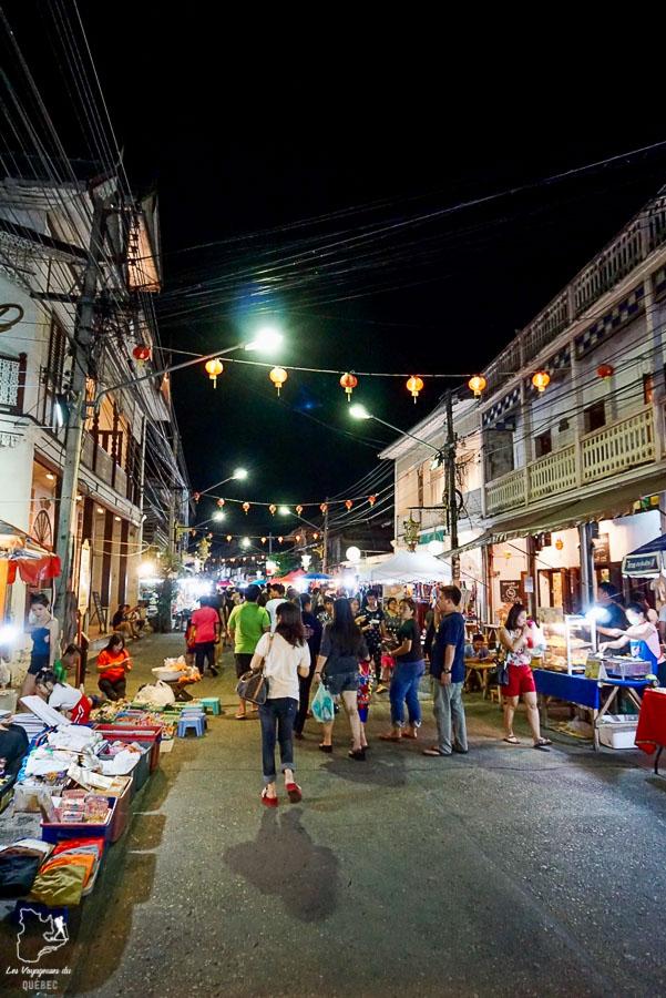 Que faire dans le nord de la Thaïlande, visiter le marché de nuit de Lampang dans notre article Visiter le nord de la Thaïlande hors des sentiers battus #thailande #nord #horsdessentiersbattus #asie #asiedusudest #voyage