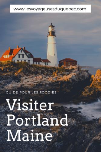 Visiter Portland dans le Maine : Guide pour foodies