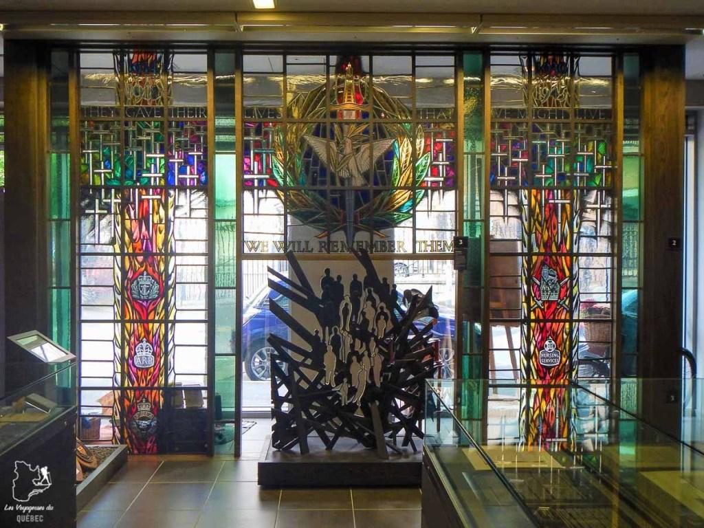 War memorial de Belfast en Irlande du Nord dans notre article Visiter Belfast en Irlande du Nord : que faire à Belfast, un musée à ciel ouvert #belfast #irlandedunord #royaumeunis #voyage #citytrip #europe