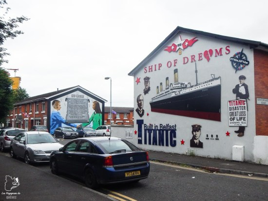 Murale sur le Titanic à Belfast dans notre article Visiter Belfast en Irlande du Nord : que faire à Belfast, un musée à ciel ouvert #belfast #irlandedunord #royaumeunis #voyage #citytrip #europe