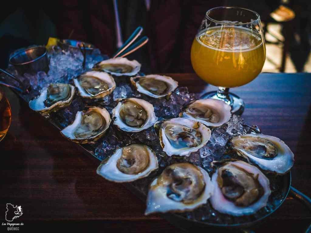 Huîtres, à tester lors d'un voyage à Portland dans notre article Visiter Portland : Quoi faire à Portland dans le Maine pour un weekend gourmand #Portland #Maine #USA #voyage #foodtour