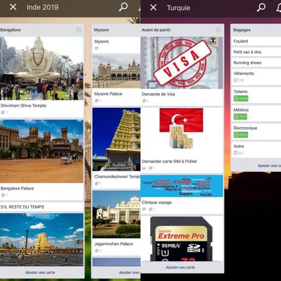 Trello, l'application pour l'organisation de ses projets dans notre article Applications voyage : 18 applications utiles pour l'organisation de son voyage #organisationvoyage #applications #voyage #astuces