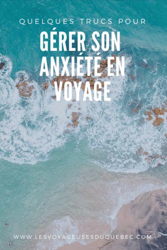 Comment gérer son anxiété en voyage