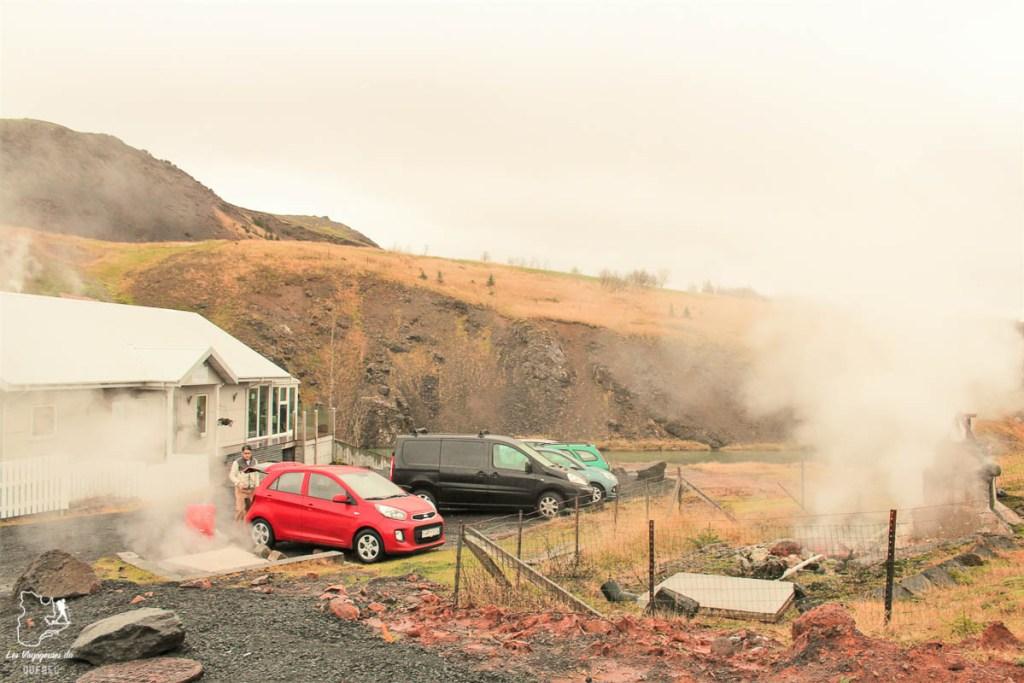 Visiter le village Hveragerdi au sud de l'Islande dans notre article Visiter l'Islande : quoi faire et voir en 4 jours seulement #islande #europe #voyage
