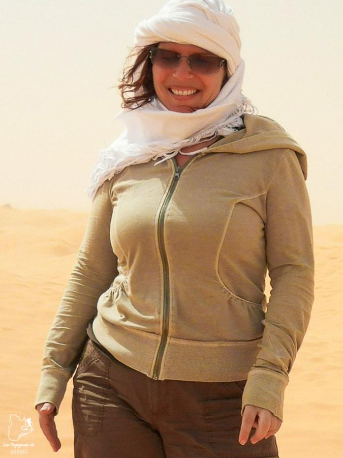 Tempête de sable dans le désert du Sahara dans notre article Déserts du monde : L'expérience mystique du Sahara, Thar et Wadi Rum #deserts #desert #sahara #thar #wadirum #voyage