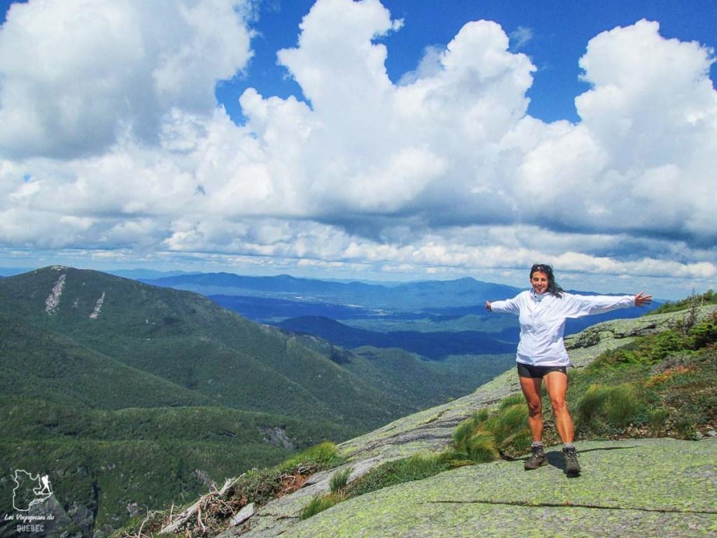 Sommet du Mont Colden dans les Adirondacks dans notre article Devenir un Adirondack 46er : Faire l'ascension des 46 plus hautes montagnes des Adirondacks #adirondack #adirondacks #46ers #46er #ADK46er #montagnes #usa #randonnee
