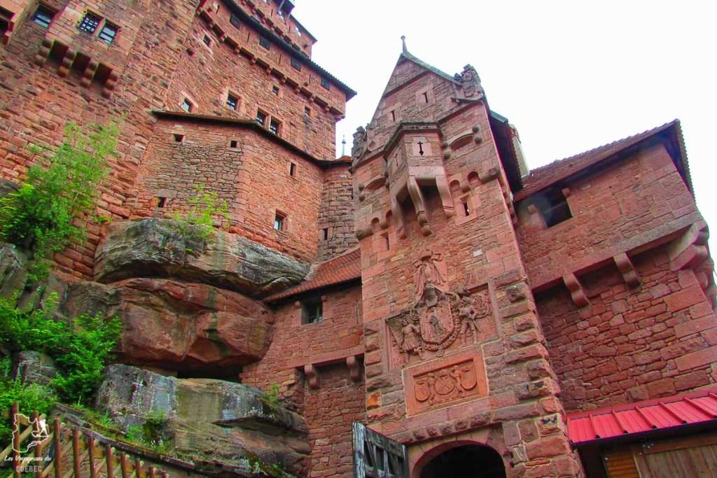 Château de Haut-Koenigsbourg, un bel endroit à visiter en Alsace dans notre article Visiter Strasbourg en Alsace et ses environs en 6 itinéraires d'un jour #strasbourg #alsace #france #voyage