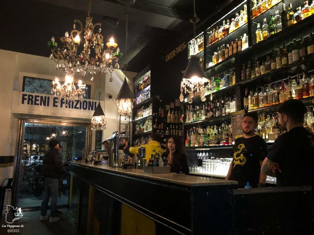 Bar Freni E Frizioni  à Rome dans notre article Visiter Rome en 4 jours : Que faire à Rome, la capitale de l'Italie #rome #italie #europe #voyage