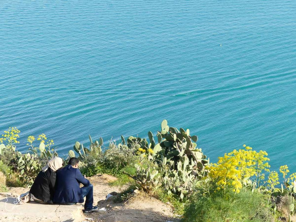 La côte tunisienne dans notre article Visiter la Tunisie : Comment faire un voyage en Tunisie autrement #tunisie #afrique #voyage #sidibousaid