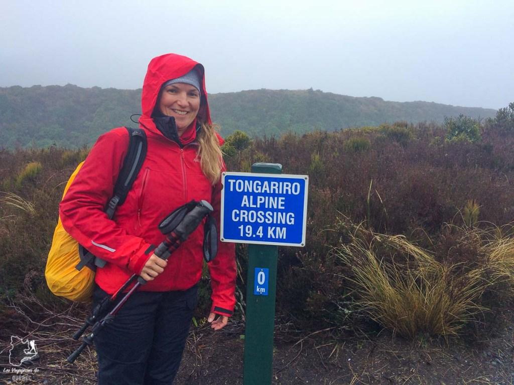 Trek sur la Tongariro alpine crossing à Ruapehu en Nouzelle-Zélande dans notre article Trek en Nouvelle-Zélande : 5 randonnées à faire sur l'île du nord en Nouvelle-Zélande #trek #randonnee #iledunord #nouvellezelande #oceanie #voyage