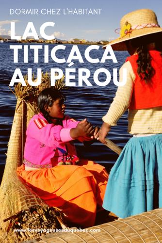 Lac Titicaca au Pérou : Mon expérience sur 3 îles