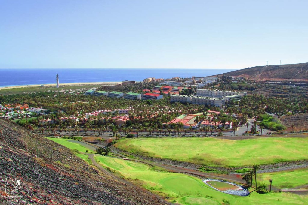 Terrain de golf Morro Jable à Fuerteventura dans notre article Visiter Fuerteventura : petit paradis des îles Canaries en Espagne #Fuerteventura #canaries #espagne #voyage #ile