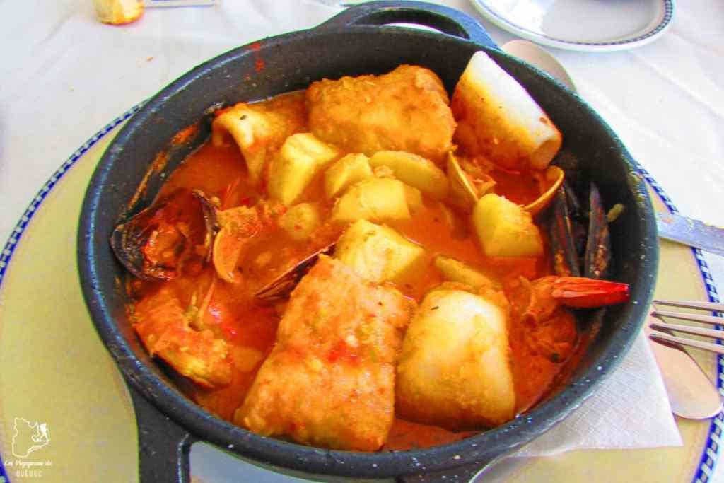 Une zarzuela, bon plat de poissons à Fuerteventura dans notre article Visiter Fuerteventura : petit paradis des îles Canaries en Espagne #Fuerteventura #canaries #espagne #voyage #ile