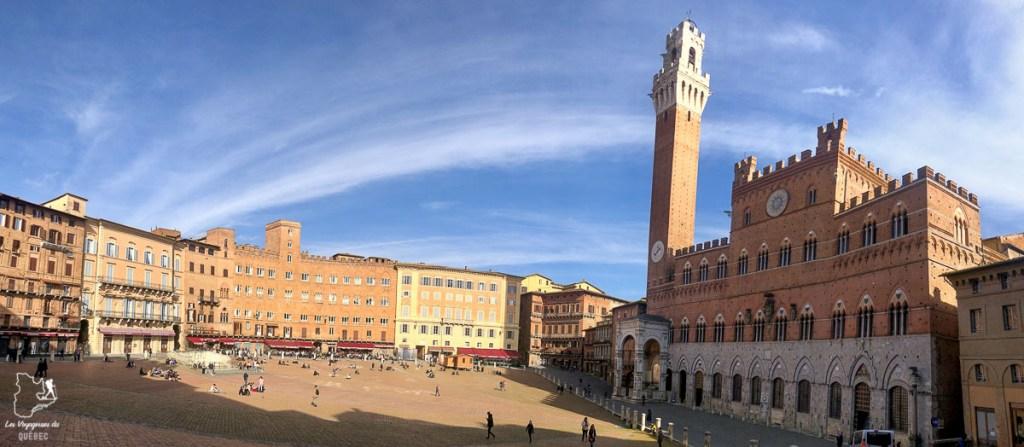La Piazza del Campo à Sienne en Toscane dans notre article Visiter la Toscane en Italie : Mes incontournables de que faire et voir en 10 jours #toscane #italie #europe #voyage #itineraire #sienne