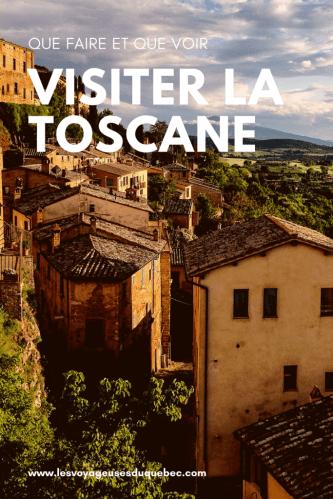 Visiter la Toscane : que faire en 10 jours en Toscane