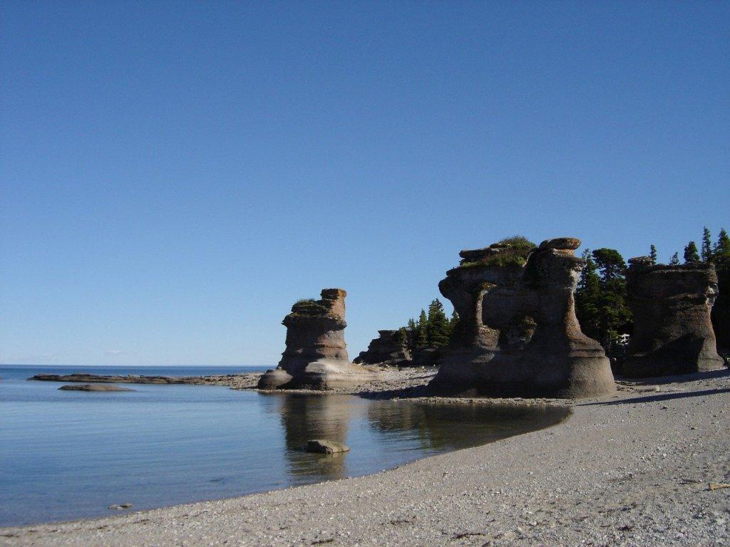Archipel de Mingan sur la Côte-Nord dans notre article Visiter la Côte-Nord au Québec : mes coups de cœur tout en nature #cotenord #quebec #canada #nature