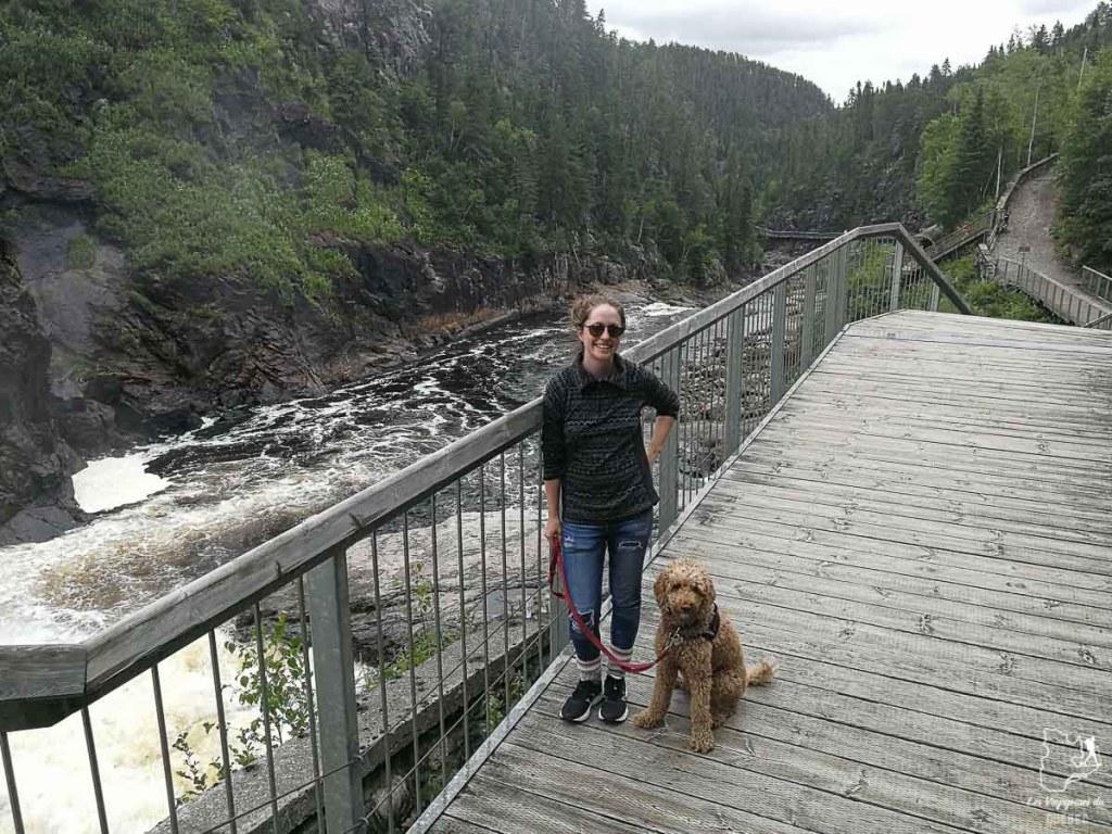 Parc du Trou de la Fée au Saguenay-Lac-Saint-Jean dans notre article Voyager avec son chien au Québec : Que faire et où aller #quebec #chien #voyager