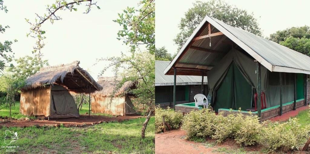 Dormir dans une tente lors d'un safari en Afrique dans notre article Safari au Kenya et en Tanzanie : comment l'organiser et s'y préparer #kenya #tanzanie #safari #afrique #voyage