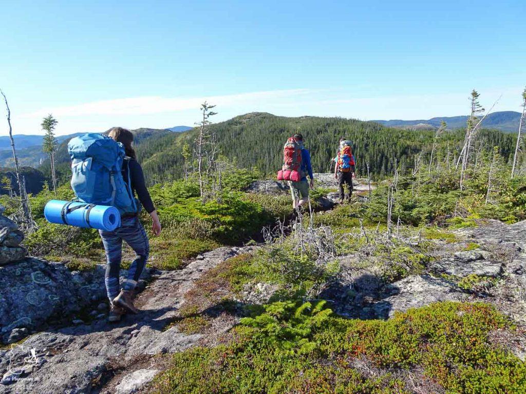 Faire de la randonnée, une belle activité au Québec dans notre article Que faire au Québec en été : 7 activités extérieures pour profiter de la saison estivale #quebec #canada #activites #ete #randonnee