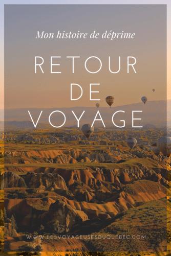 Le retour de voyage : mon histoire de déprime post-voyage