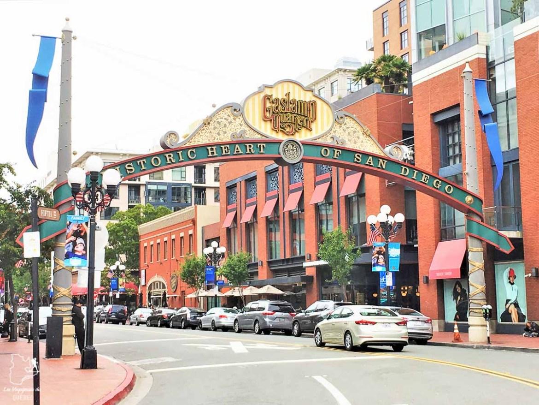 Quartier Gaslamp de San Diego dans notre article Villes de la Californie : une semaine à San Francisco, Los Angeles et San Diego #californie #usa #etatsunis #voyage #losangeles #sanfrancisco #sandiego
