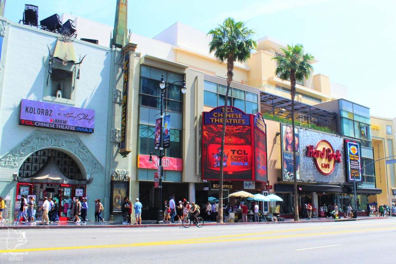 Hollywood Boulevard à Los Angeles dans notre article Villes de la Californie : une semaine à San Francisco, Los Angeles et San Diego #californie #usa #etatsunis #voyage #losangeles #sanfrancisco #sandiego