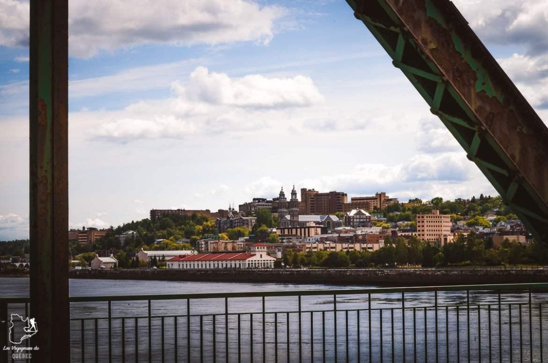 Centre-ville de Chicoutimi dans notre article Tourisme au Saguenay-Lac-Saint-Jean : Itinéraire complet pour 5 jours de road trip dans le région #saguenay #lacsaintjean #saguenaylacsaintjean #quebec #quebecoriginal