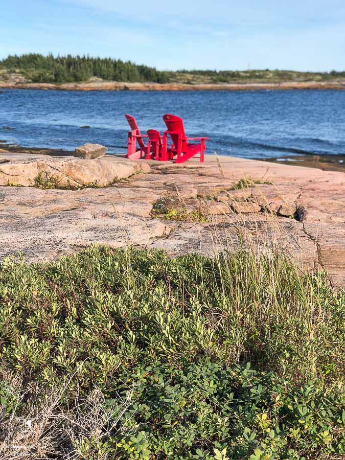 Baie Joahn-Beetz dans notre article Road trip sur la Côte-Nord au Québec : Itinéraire voyage de 10 jours en van #cotenord #quebec #bonjourquebec #canada #roadtrip #voyage