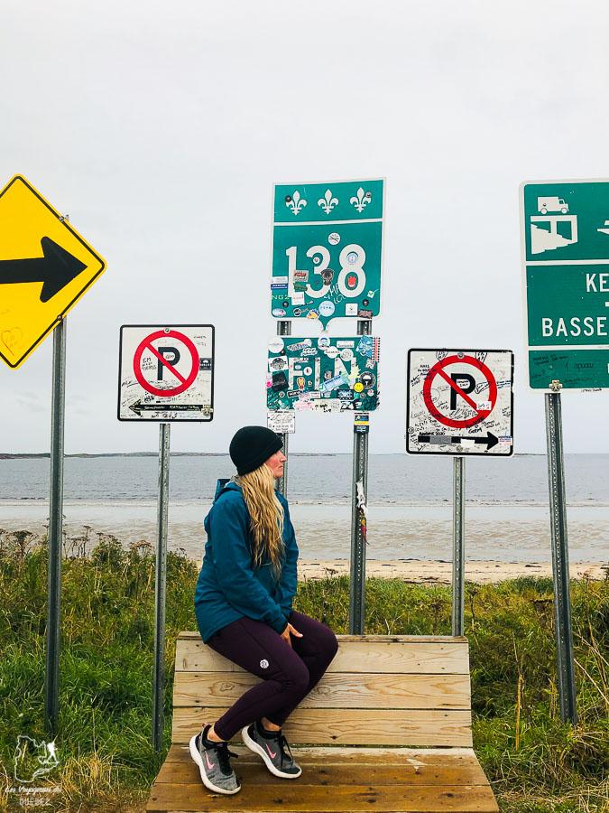 Bout de route 138 à Kegaska dans notre article Road trip sur la Côte-Nord au Québec : Itinéraire voyage de 10 jours en van #cotenord #quebec #bonjourquebec #canada #roadtrip #voyage