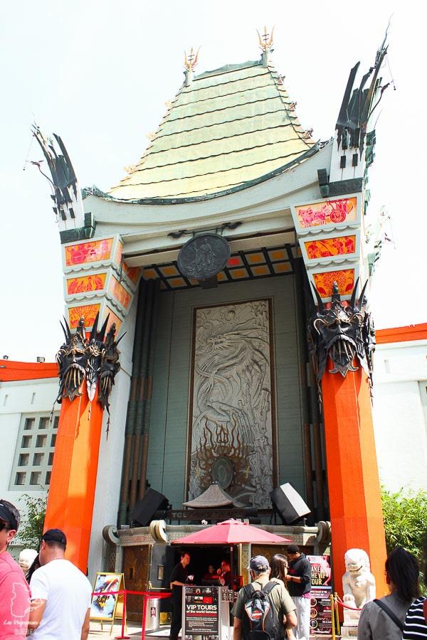 Grauman's Chinese Theatre à Los Angeles dans notre article Visiter Los Angeles aux USA : Que voir et que faire à Los Angeles en 3 jours #losangeles #californie #usa #etatsunis #voyage